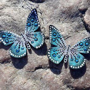 perhoskorvakorut sininen