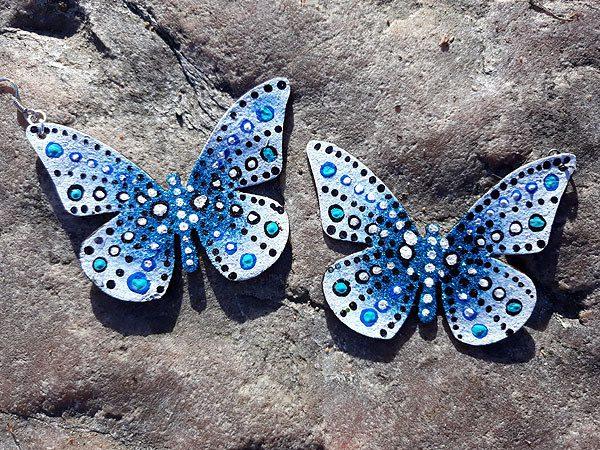 perhoskorvakorut vaaleansininen