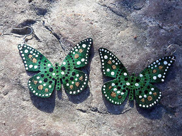 perhoskorvakorut vihrea